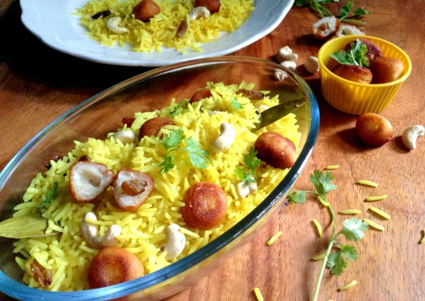 Quick Moti Pulao (Pearl Pilaf) - Restaurant Secret Recipe #Indianfood #maindish #Quickmeals #under30recipe #easyrecipe #Restaurantrecipe #Rice #Pilaf #Motipulao #Indianfoodblogger